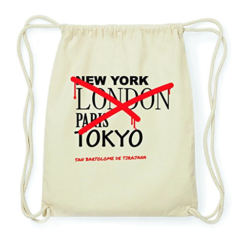 JOllify SAN BARTOLOME DE TIRAJANA Hipster Turnbeutel Tasche Rucksack aus Baumwolle - Farbe: natur Design: Grafitti ZMmz6