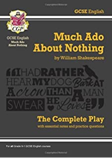 From Thesis To Essay Writing Grade  Gcse English Much Ado About Nothing  The Complete Play Cgp Obesity Essay Thesis also English Sample Essays Much Ado About Nothing York Notes For Gcse Amazoncouk Sarah  Essay Writing Topics For High School Students