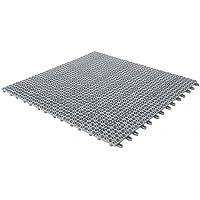 Baldosas flexibles de plástico, 55,5 x 55,5 cm