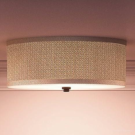 size 40 c6189 a5c47 Luxury Craftsman Flush Mount Ceiling Light, Medium Size: 6.5 ...
