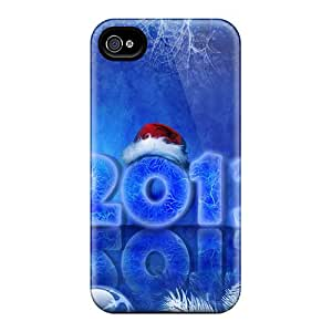 2012 Happy New Year Holidays Case Compatible With Iphone 5/5s/ Hot Protection Case