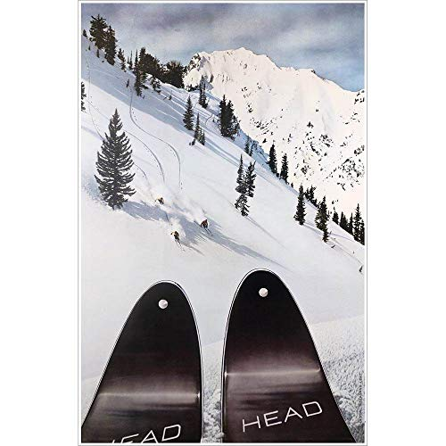 Head Skis at Alta Ski Poster, 20 x 31 inches