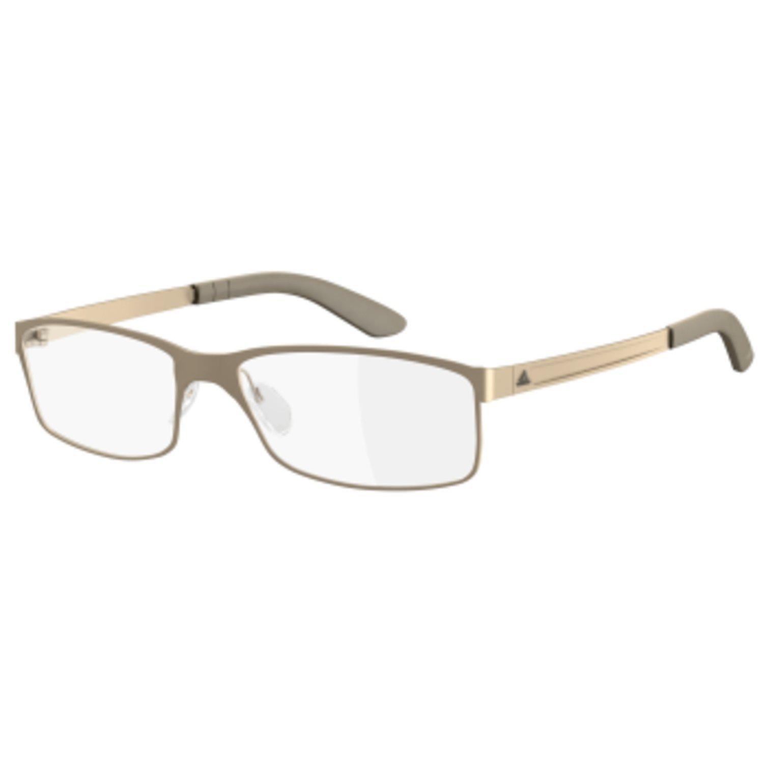 New Adidas Prescription Eyeglasses - AF51 6064 - Matte Cream (54-17-135)
