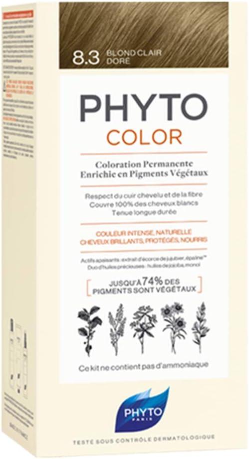 Phyto color 8.3 rubio claro dorado