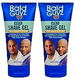 Bald Guyz Clear Original Shave Gel, 5.4 oz (Pack of 2)