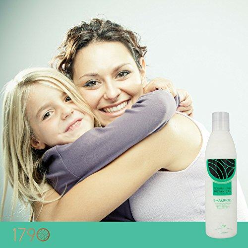 1790 Best Daily Natural Nourishing Botanical Shampoo - Moisturizing, Volumizing, Sulfate Free Shampoo For All Hair Types -Women, Men - Heal Dry, Damaged, Dandruff - Colored - Anti Aging Hair Care