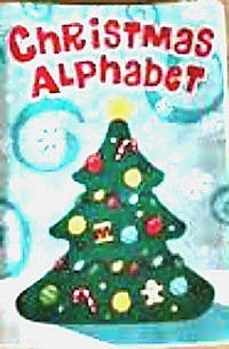 Christmas Alphabet Soft Fabric Book Personalized