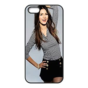 iPhone 4 4s Cell Phone Case Black Beautiful Victoria Justice Fdfmk