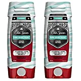Old Spice Hydro Wash Body Wash Hardest Working Collection Pure Sport Plus 16 Oz, 2 Pack