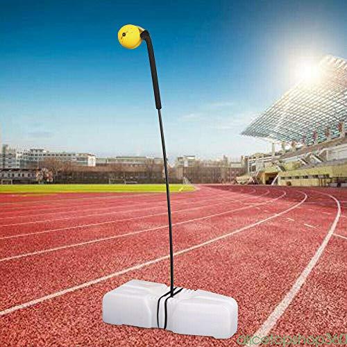 LianDu Portable Tennis Practice Trainer Hit Ball Swing Back Aid Stroke Machine 85CM