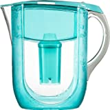 Brita Grand Water Filter Pitcher, Turquoise Versailles, 10 Cup- Discontinued By Manufacturer