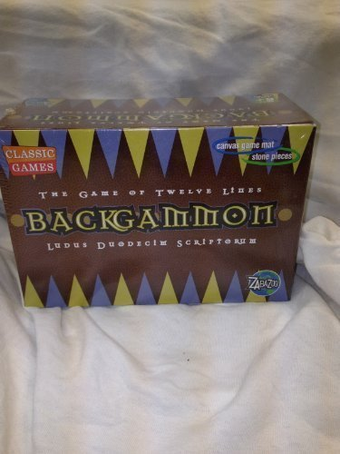 The Game of Twelve Lines Backgammon by Classic Games by Classic Games
