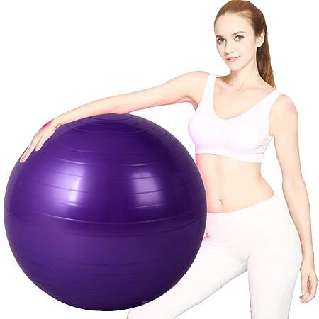 ZENWEN Bola De Yoga De Rayas 65 Cm Fitness Mujeres Espesar ...
