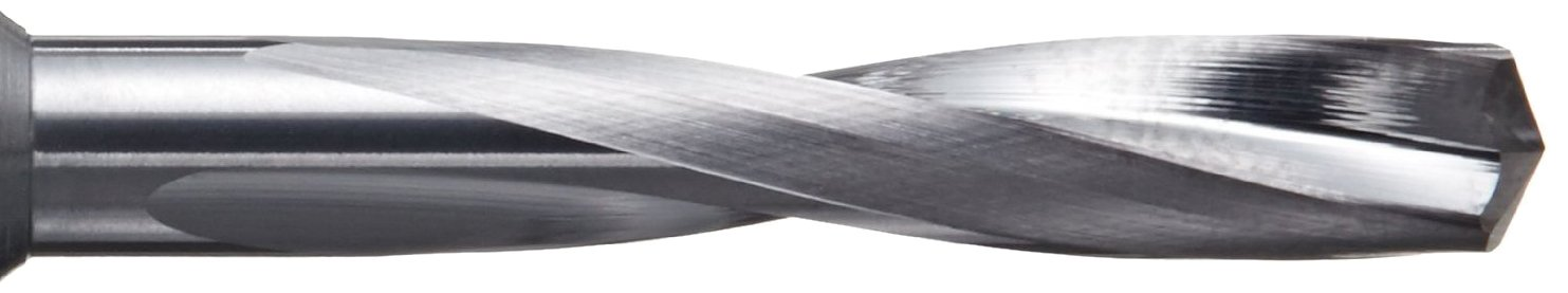 YG-1 DH501 Carbide Dream Drill Bit Straight Shank 0.1495 Diameter x 2.0625 Length Slow Spiral TiAlN Finish 140 Degree #25 Size Pack of 1