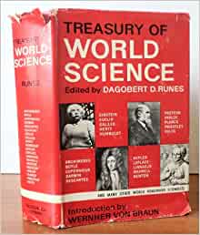 A Treasury Of World Science Dagobert D Editor With An
