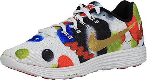 Nike Kvinnor Lunartempo 2 Wvt Vit / Flerfärgad Löparskor Vit / Multi