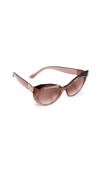 Ray-Ban 0DG6123 Gafas de Sol, Transparente Pink, 54 para ...