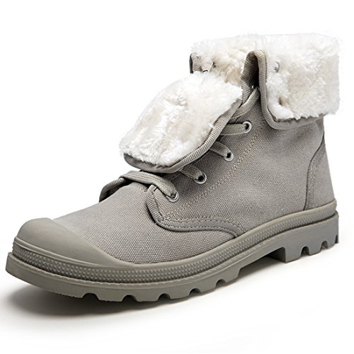 Miyoopark EU Fur XCR1328A Grey Grau UK 39 Lined Stiefel Herren Größe rcrBFvw6q