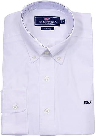 Vineyard Vines - Camisa para hombre, diseño de ballena, talla XL, color blanco: Amazon.es: Ropa y accesorios