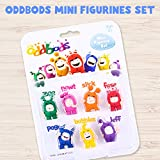 Oddbods Mini Figurine Set