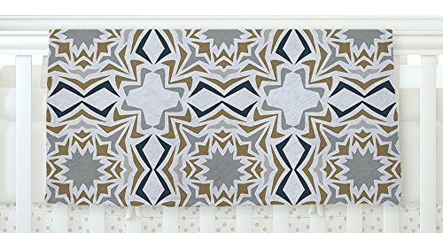 KESS InHouse Miranda Mol Ice Stars Fleece Baby Blanket 40 x 30 [並行輸入品]   B077ZPJ4WK