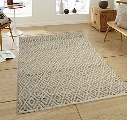 Glitzhome Handcrafted Woven Classic Argtle Pattern Heavy Wool Area Rugs Living Room Carpets Suitable for Children Bedroom Home Decor Nursery Rugs (3' x (Classic Handcrafted Wool)