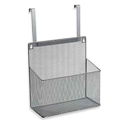 ORG Metal Mesh Kitchen Cabinet Organizer Hung Over Cabinet Door or Mounted (1)  sc 1 st  Amazon.com & Amazon.com - .ORG Metal Mesh Kitchen Cabinet Organizer Hung Over ...