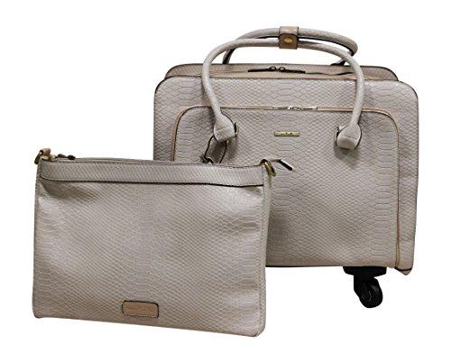 Simply Noelle Nile Roller Bag (Pearl)