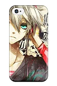 Premium Durable Splattered Tunes Animes Fashion Tpu Iphone 4/4s Protective Case Cover