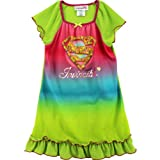 SGI Apparel Little Girls'  Supergirl Dorm Nightgown, 6/6X