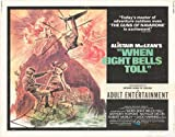 "When Eight Bells Toll - Authentic Original 28"" x 22"" Movie Poster"