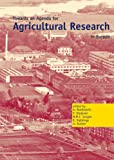 Towards an Agenda for Agriculture Research in Europe, Boekestein, A., 9074134807