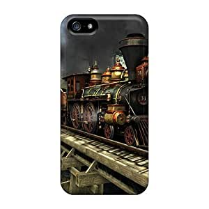 Brand New 5/5s Defender Case For Iphone (western Train)