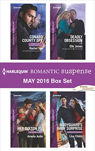 book cover of Harlequin Romantic Suspense May 2016 Box Set