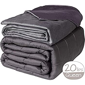 Image of Active Corner Cozy Mill 20 lb Weighted Blanket | 60'x80' | Queen Size Heavy Blanket with All Seasons Bamboo/Minky Cover | Designed for Adults Weighing 180-230 lbs | Comfort Series Active Corner B07P5J85NS Weighted Blankets