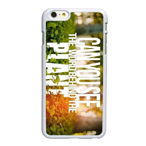 E2Q54 peut vous voir C8L2EP coque iPhone 6 4.7 pouces cas de couverture de téléphone portable de coque DA3UVD6PS blancs