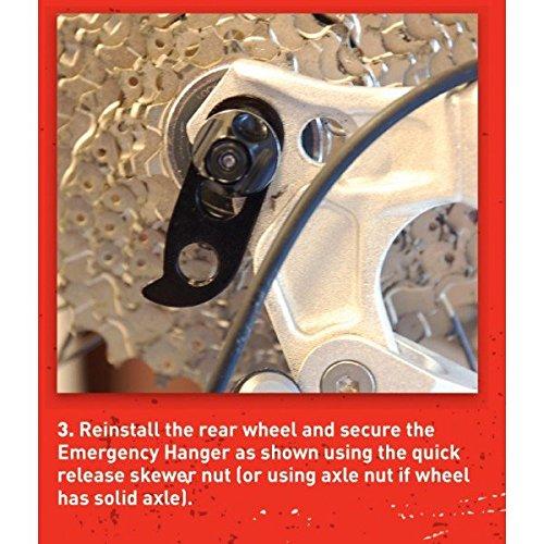 Jobsworth Emergency Rear Derailleur hanger fits most bikes