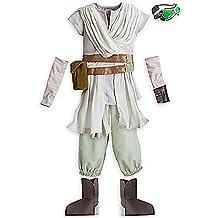 Disney Girls Star Wars The Force Awakens Rey Costume Size 5/6