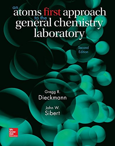 Chemistry:Atoms First Lab.Manual