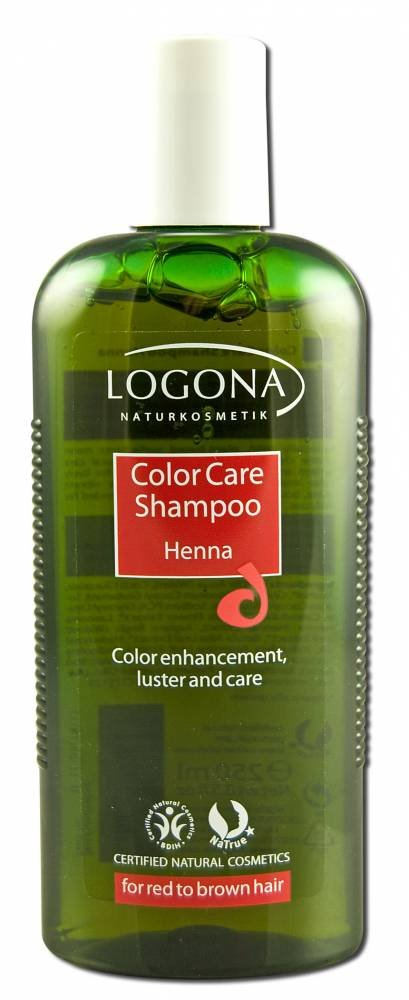 Color Care Shampoo Henna Logona 8.4 oz Liquid