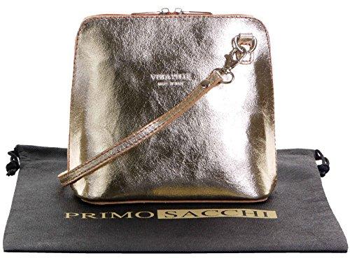 Metallic Cross Body Bag - 3