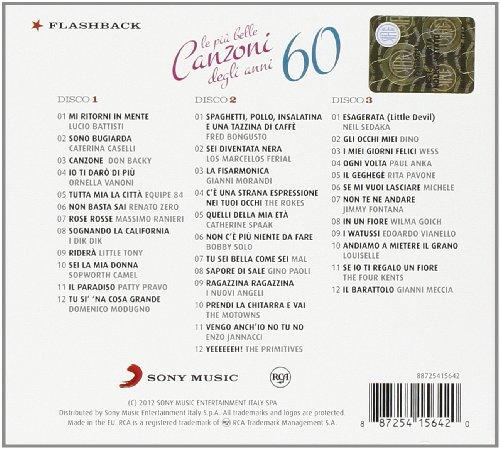 canzoni italiane anni 60