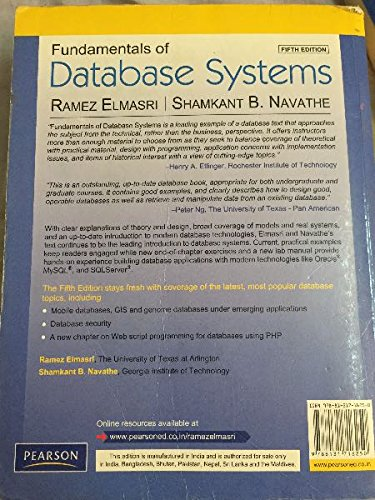 Database Management System Book By Navathe