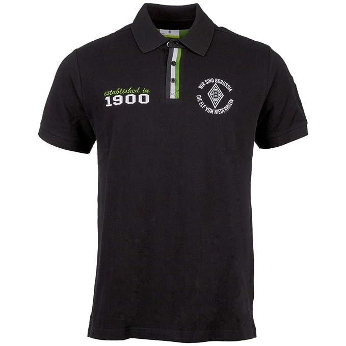 Kappa BMG Hombre de Polo Camiseta S/S Polo, Negro/Verde, 4XL ...
