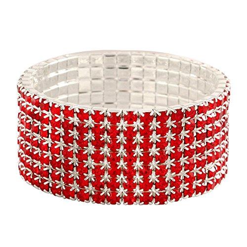 Falari Rhinestone Crystal Stretch Bracelet product image
