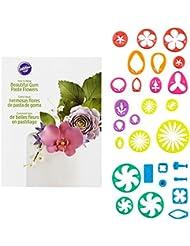 Wilton Gum Paste Flower Cutter Set, 28-Piece