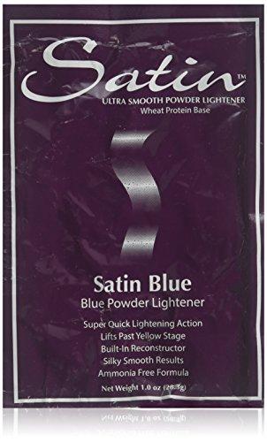 1 Ounce Satin (SATIN Satin Blue/bleach Powder Lightener 1 Oz Individual Pack)