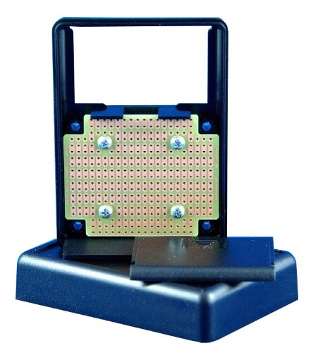 KIT-1593P Box+PCB, Black ABS Plastic Box with Batt. Compartment, with PR1593P PCB, Box = 3.6 x 2.6 x 1.1 in