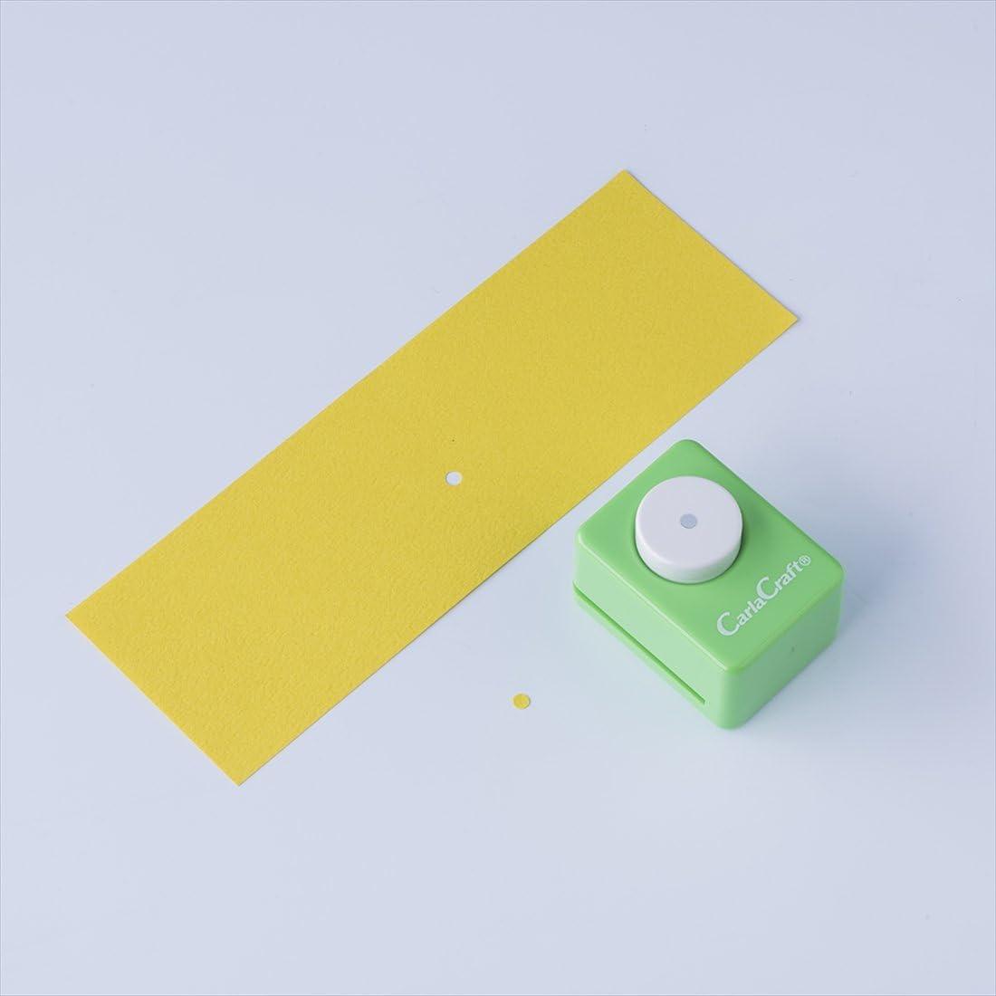 Circle 1//8 Carl Craft Small Size Craft Paper Punch CP-1 Circle 1//8
