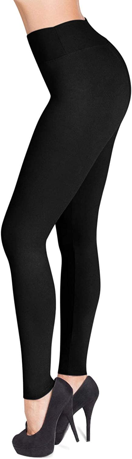 SATINA High Waisted Leggings - 25
